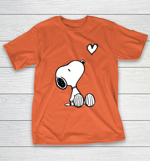 Peanuts Valentine Snoopy Heart T-Shirt 4