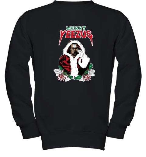 MERRY YEEZUS UGLY CHRISTMAS Youth Sweatshirt