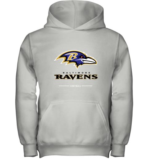 Men_s baltimore ravens NFL Pro Line Black Team Lockup T Shirt Youth Hoodie