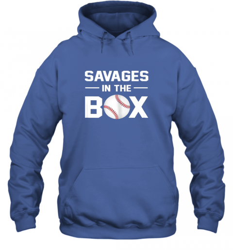 mtxq savages in the box shirt baseball gift hoodie 23 front royal