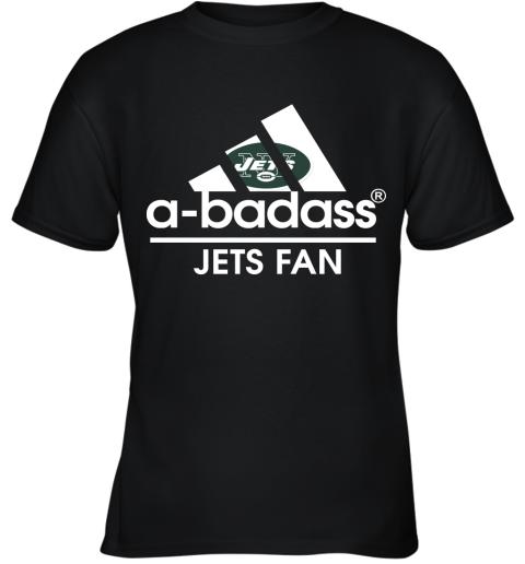 A Badass New York Jets Mashup Adidas NFL Youth T-Shirt