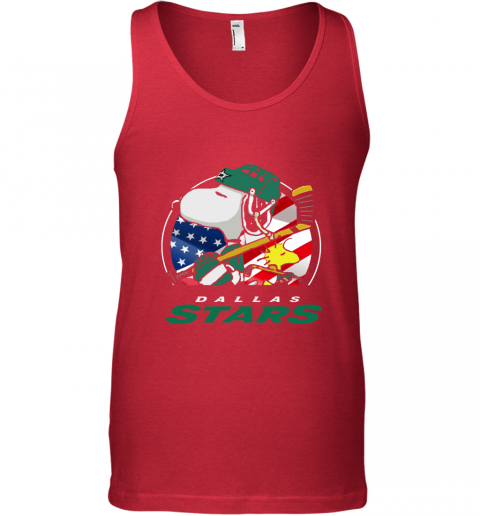 lcso-dallas-stars-ice-hockey-snoopy-and-woodstock-nhl-unisex-tank-17-front-red-480px