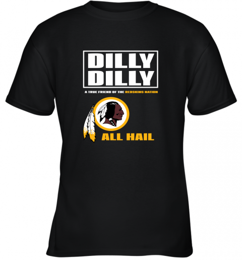 A True Friend Of The Redskins Youth T-Shirt