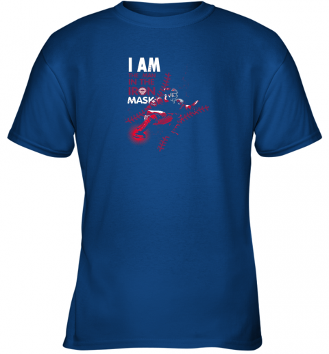 kxct i am the man in the iron mask baseball catcher youth t shirt 26 front royal