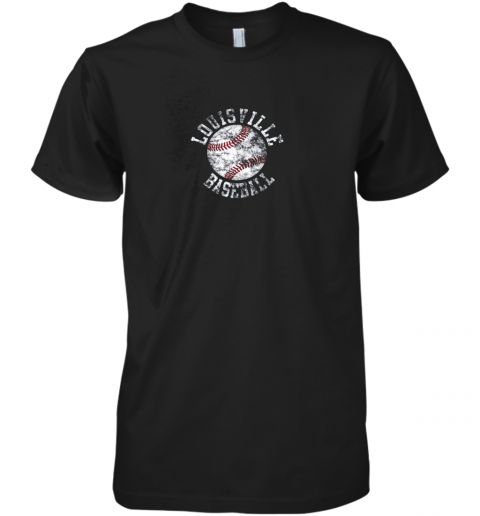 Vintage Louisville Baseball Premium Men's T-Shirt