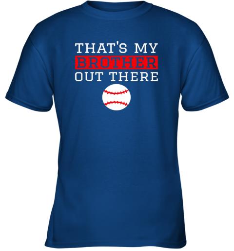 vmol sister baseball gift that39 s my brother baseball sister youth t shirt 26 front royal