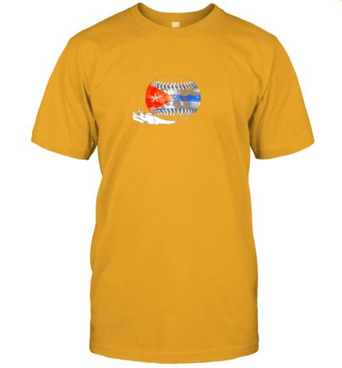 pht6 vintage baseball cuba flag shirt cuban pride jersey t shirt 60 front gold