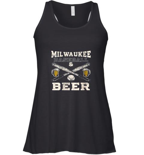 Love Milwaukee Love Baseball Racerback Tank