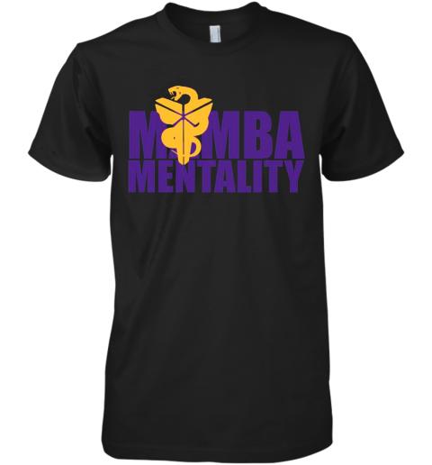 Mamba Mentality T Premium Men's T-Shirt
