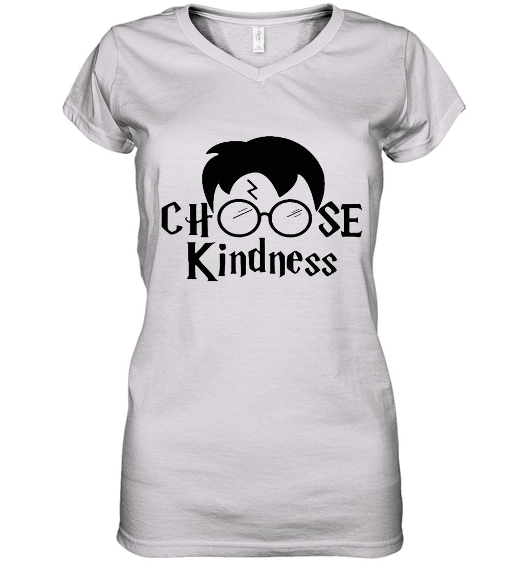 Harry Potter Choose Kindness Women's V-Neck T-Shirt