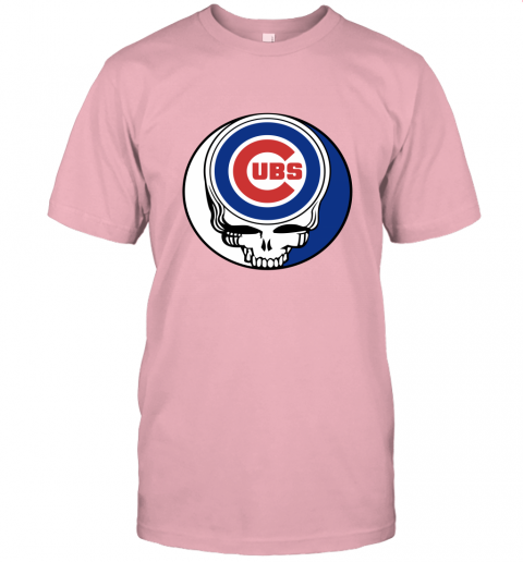 Chicago Cubs The Grateful Dead Baseball Mlb Mashup Unisex Jersey Tee
