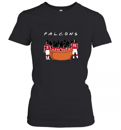 NFL  Atlanta Falcons Together F.R.I.E.N.D.S Women's T-Shirt