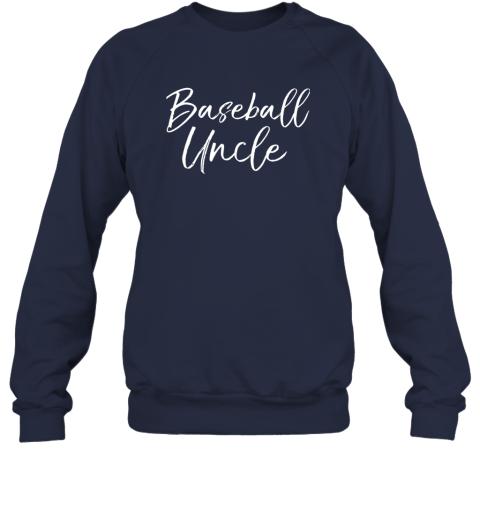 17ml baseball uncle shirt for men cool baseball uncle sweatshirt 35 front navy