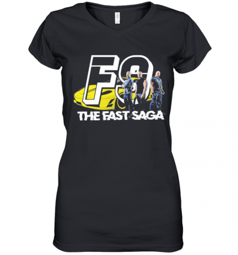 Fast And Furious The Fast Saga Women's V-Neck T-Shirt
