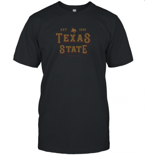 Texas State Bobcats Women_s College NCAA Unisex Jersey Tee