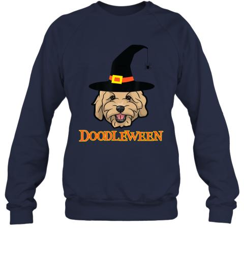 Goldendoodle Halloween - Spooky Golden Doodle Dog Gift Sweatshirt