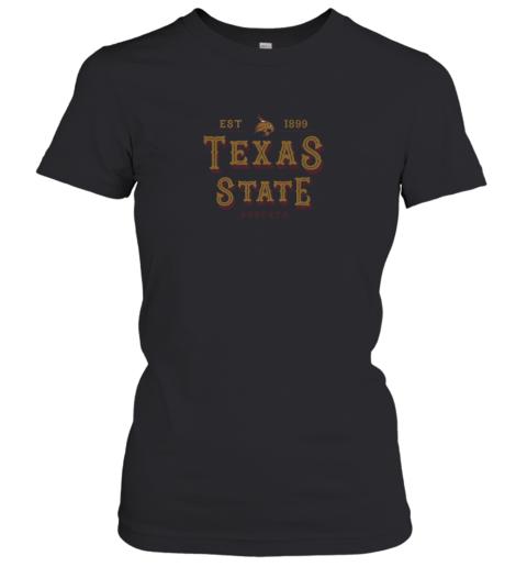 Texas State Bobcats Women_s College NCAA Women's T-Shirt