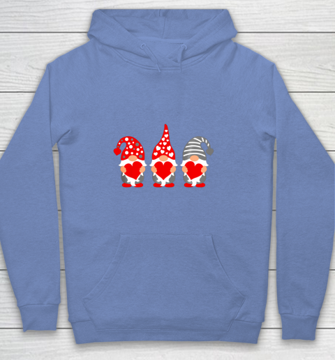 Gnomes Hearts Valentine Day Shirts For Couple Youth Hoodie 8