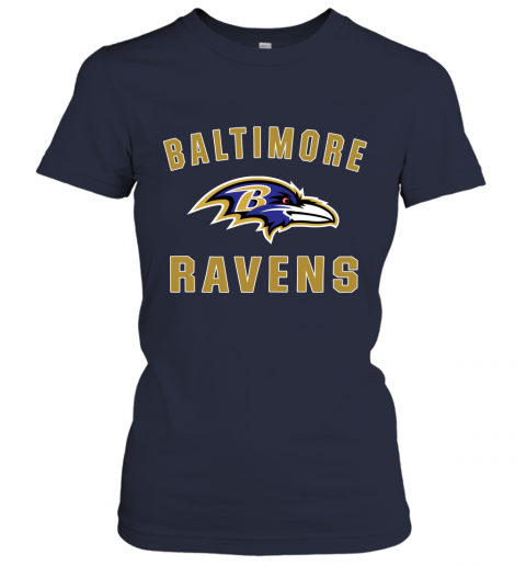 6fg8 mens baltimore ravens nfl pro line by fanatics branded gray victory arch t shirt ladies t shirt 20 front navy