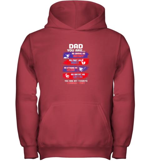 naln javier baez baseball buddy shirtapparel youth hoodie 43 front red