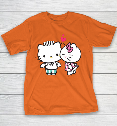 Hello Kitty and Dear Daniel Valentine Tee Youth T-Shirt 4