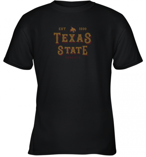 Texas State Bobcats Women_s College NCAA Youth T-Shirt