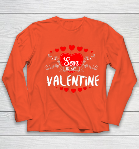 Mother Valentines Day Son Is My Valentine Youth Long Sleeve 3