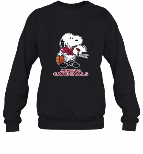 Snoopy A Strong And Proud Arizona Cardinals NFL Sweatshirt