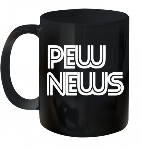pew news Ceramic Mug 11oz