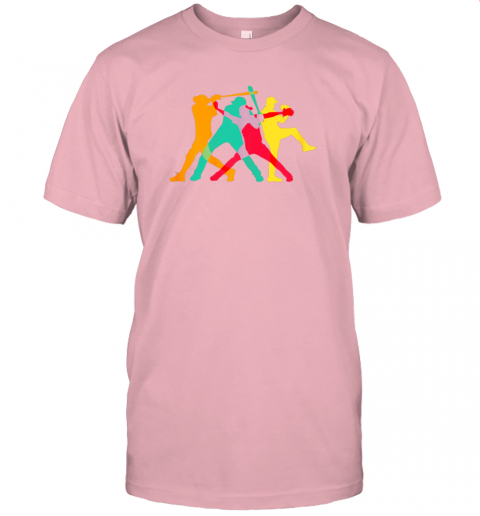 637s vintage baseball shirt gifts jersey t shirt 60 front pink