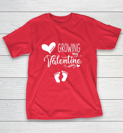 Growing my Valentine Tshirt for Wife T-Shirt 9