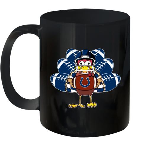 Indianapolis Colts  Thanksgiving Turkey Football NFL Ceramic Mug 11oz