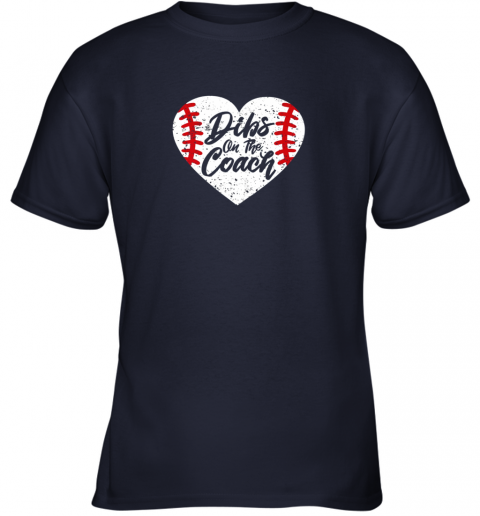 hwzx dibs on the coach funny baseball youth t shirt 26 front navy
