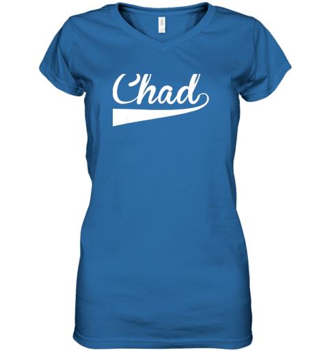 7jwp chad country name baseball softball styled women v neck t shirt 39 front royal