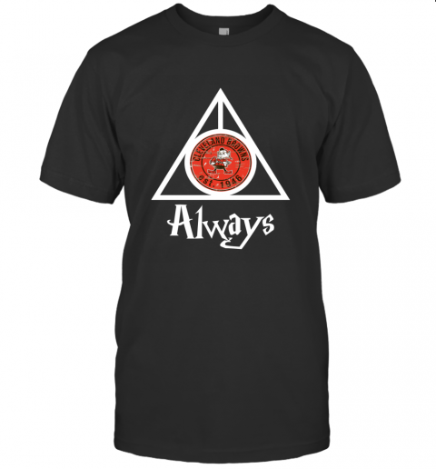 Always Love The Cleveland Browns x Harry Potter Mashup NFL T-Shirt