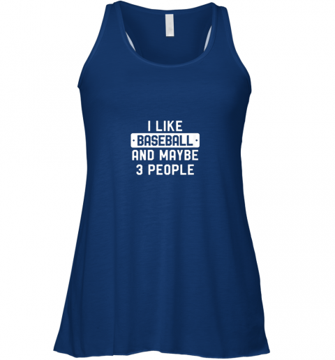 q0qf i like baseball and maybe 3 people flowy tank 32 front true royal