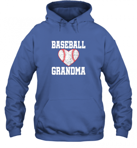 q4mx vintage baseball grandma funny gift hoodie 23 front royal