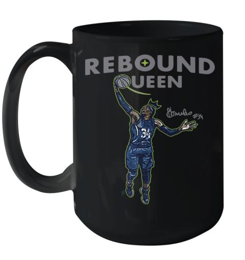 Sylvia Fowles Rebound Queen 2020 Ceramic Mug 15oz