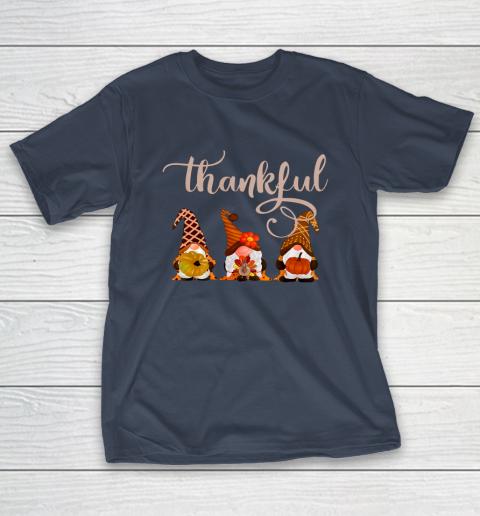 Cute Thanksgiving Thankful Gnomes T-Shirt 3