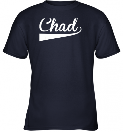 fyvn chad country name baseball softball styled youth t shirt 26 front navy