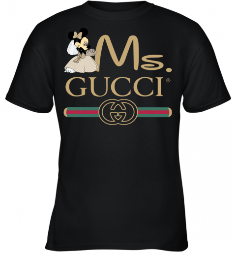 Gucci Disney Ms Minnie Couple Valentine's Day Gift Youth T-Shirt