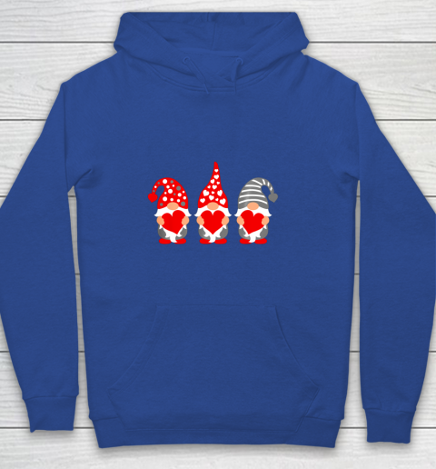 Gnomes Hearts Valentine Day Shirts For Couple Youth Hoodie 6