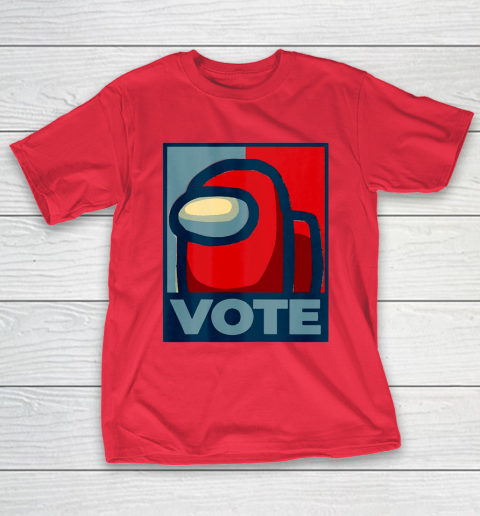 Who is the Impostor neu Among with us start the vote T-Shirt 10