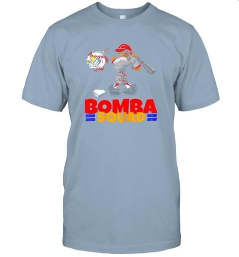 wczv bomba squad twins shirt for men women baseball minnesota jersey t shirt 60 front light blue