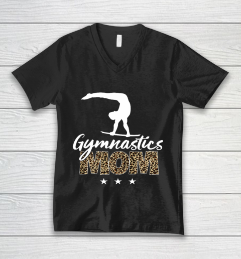 Mother s day Gymnastics Mom for mom mother s day funny V-Neck T-Shirt
