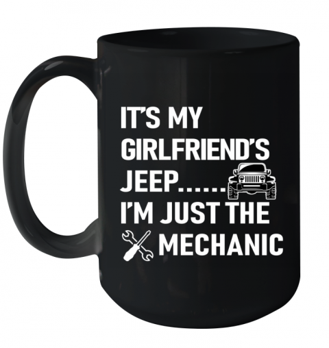 Mechanic Girlfriend Ceramic Mug 15oz