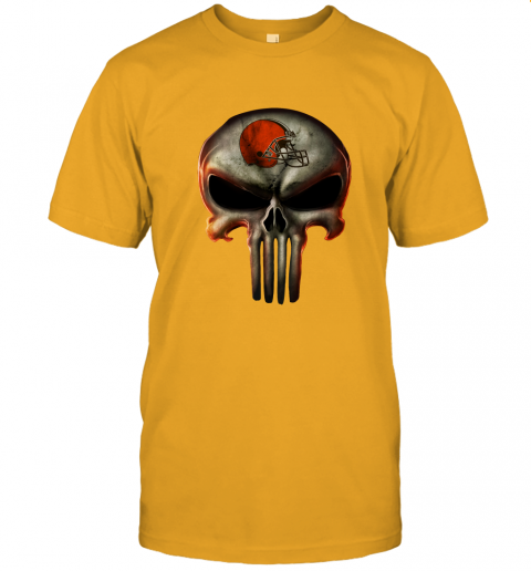 aa4h cleveland browns the punisher mashup football jersey t shirt 60 front gold