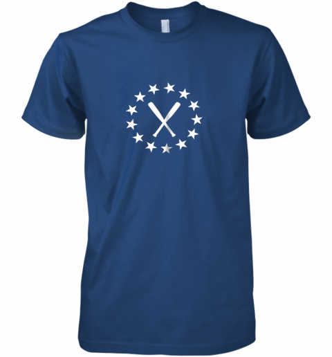 zrsr baseball with bats shirt baseballin player gear gifts premium guys tee 5 front royal