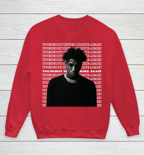 Youngboy Never Broke Again V2 Youth Sweatshirt 7