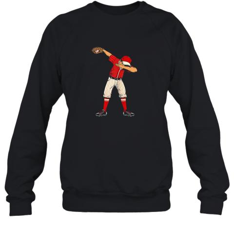 Dabbing Baseball Catcher Gift Shirt Men Boys Kids BZR Sweatshirt